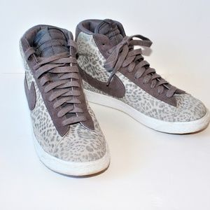 Tall Nike Blazer Leopard Big Print Gray